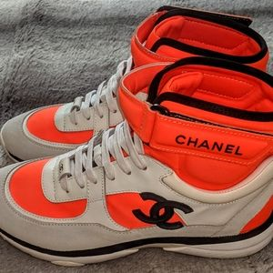 Chanel hightop sneakers